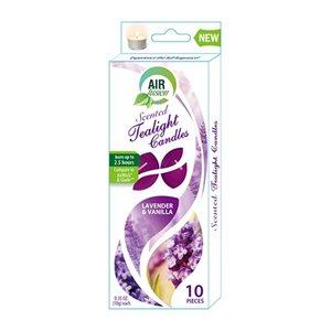 Air Fusion Tealight 10PK Lavender & Vanilla