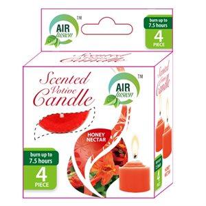 Air Fusion Votive Candle 4PK Honey Nectar