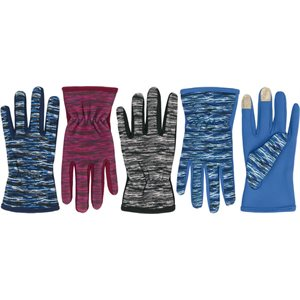 LADIES MULTI COLOR TOUCH GLOVES